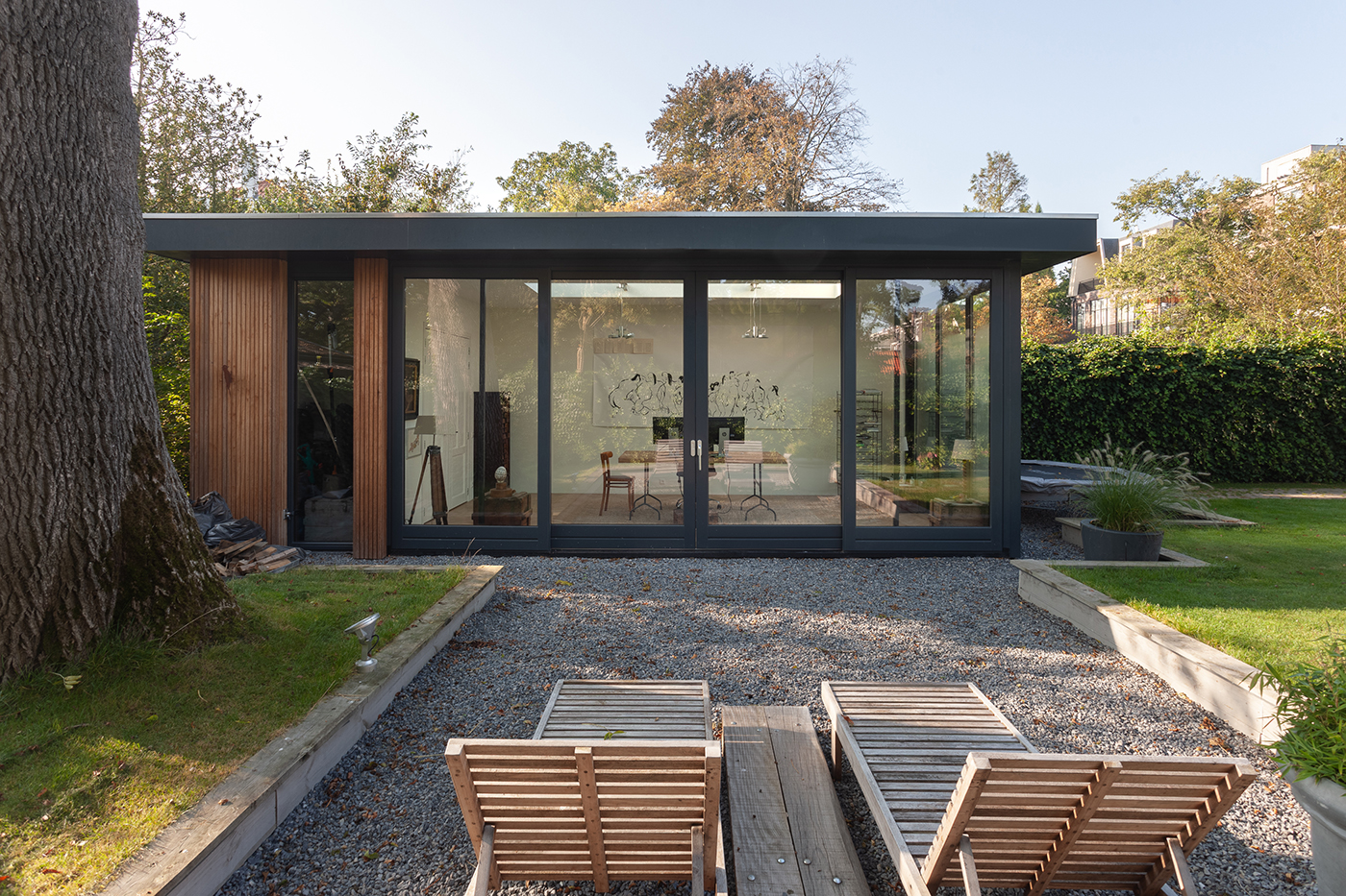 Aanbouw D+P exterieur 4 tuinhuis