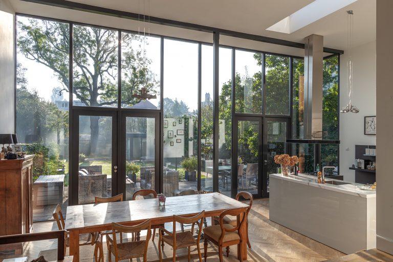 Aanbouw D+P interieur 1 keuken eetkamer
