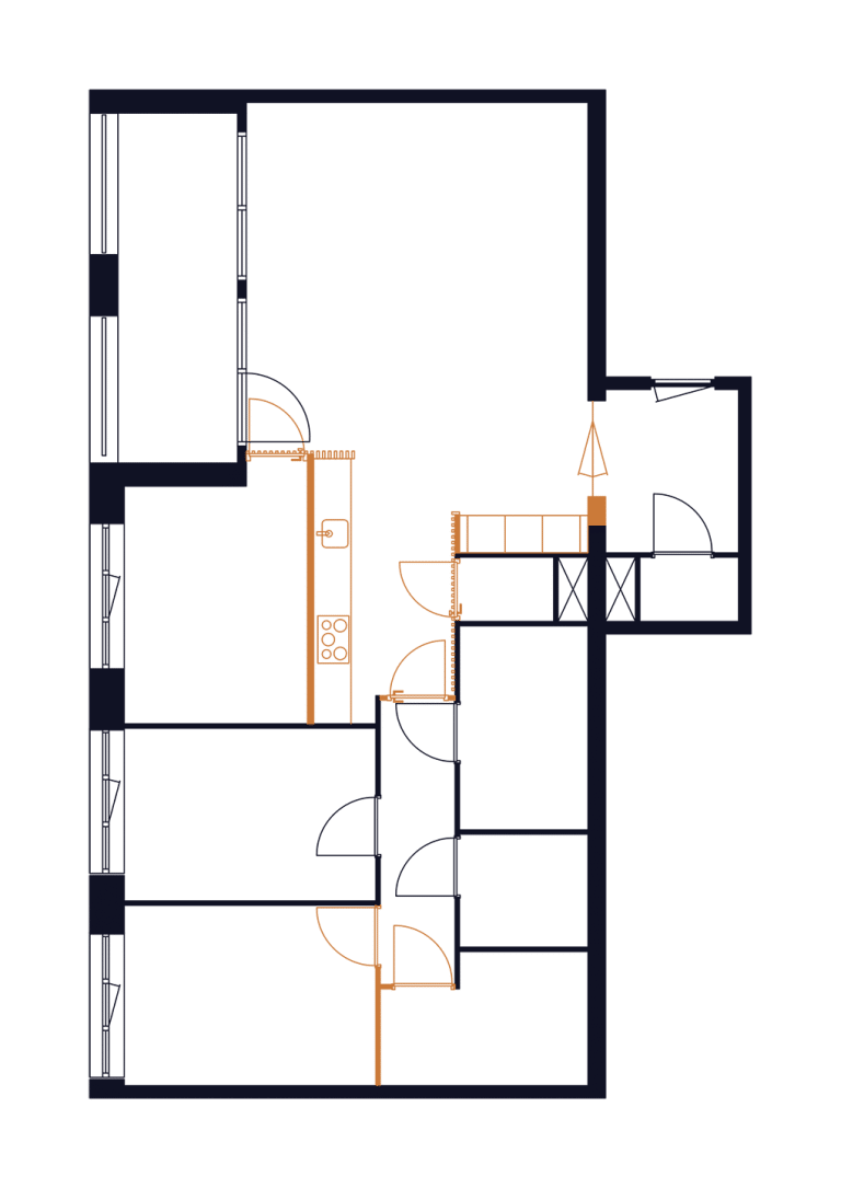 Appartement_Mullerkade_verbouwing_interieur_plattegrond_02