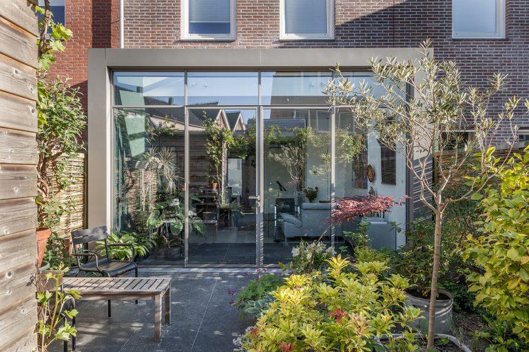 Glazen aanbouw Rotterdam exterieur 1 aanzicht