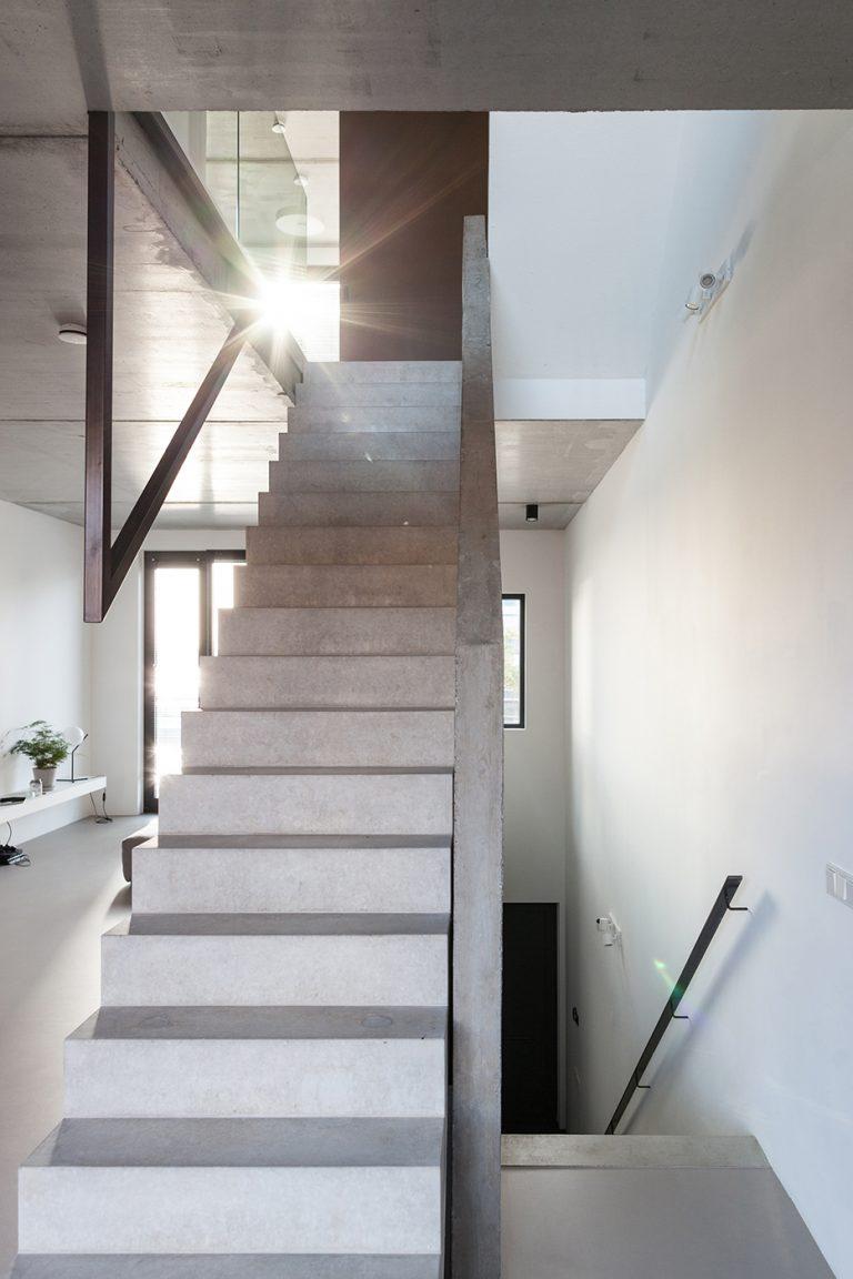 Stadsloft R+F interieur 2 trap woonkamer