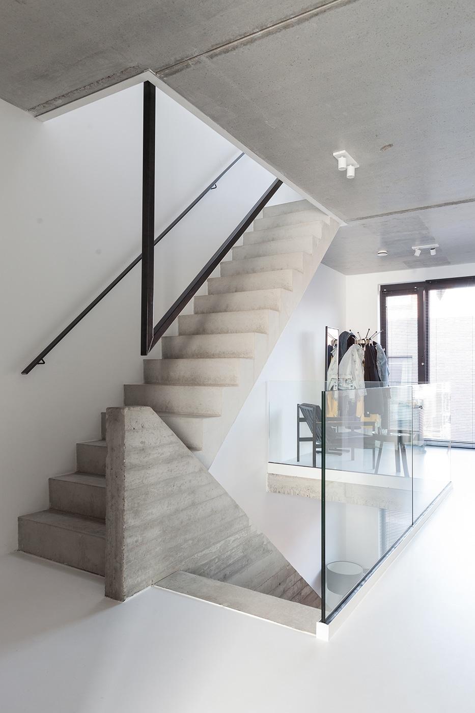 Stadsloft RF interieur 3 trap verdieping