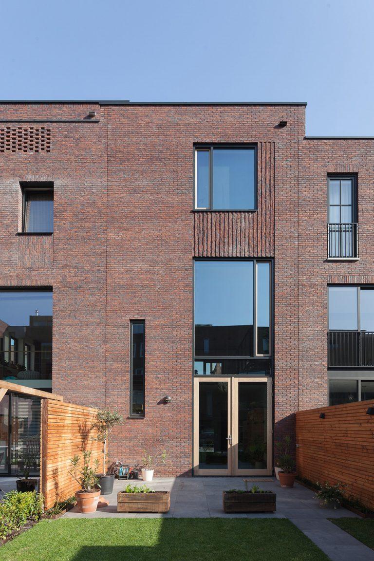 Stadswoning Create@Mullerpier kavel 27 exterieur achterzijde