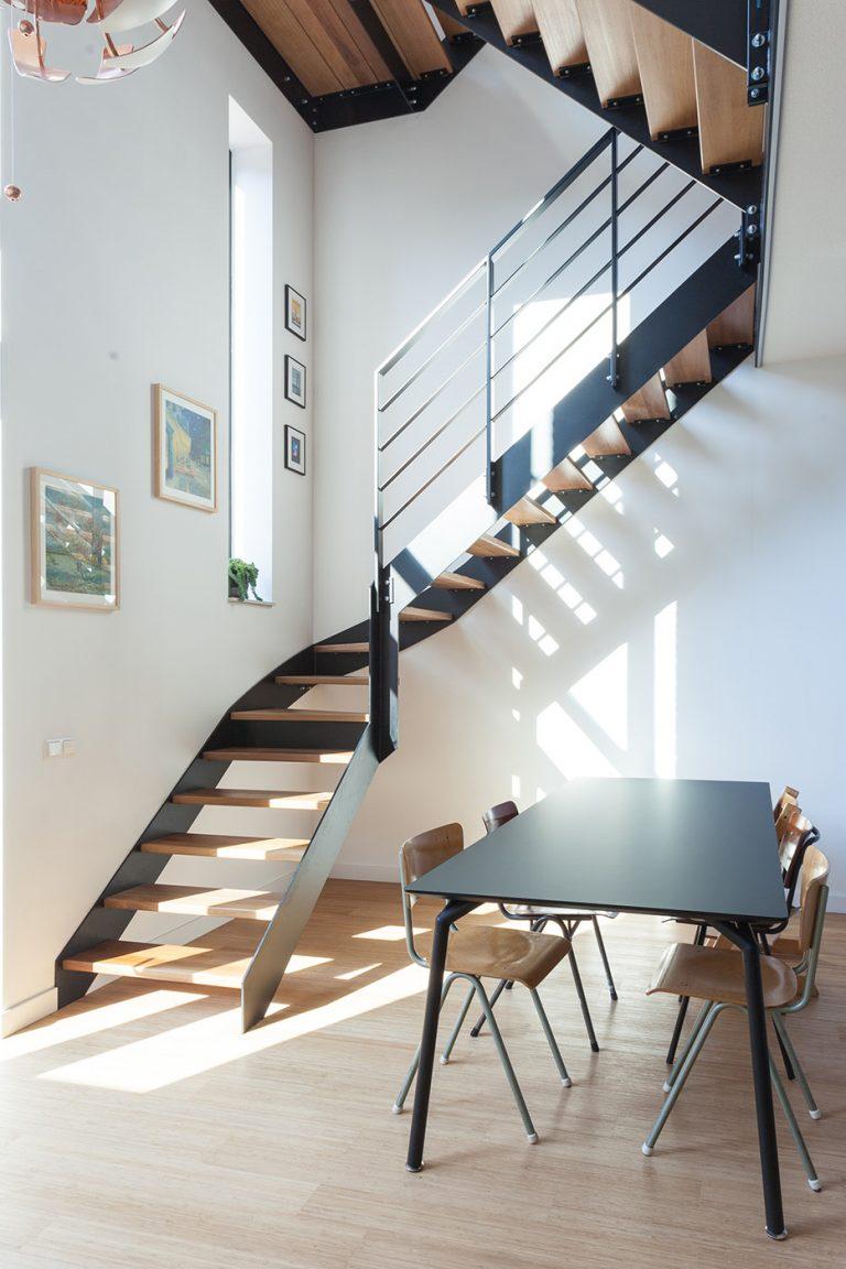 Stadswoning Create@Mullerpier kavel 27 interieur 2 trap