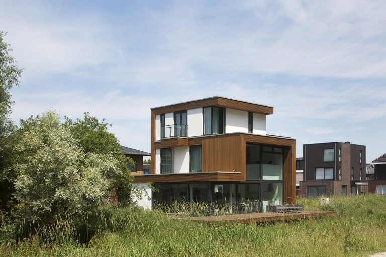 Villa D+H exterieur 3 zijgevel